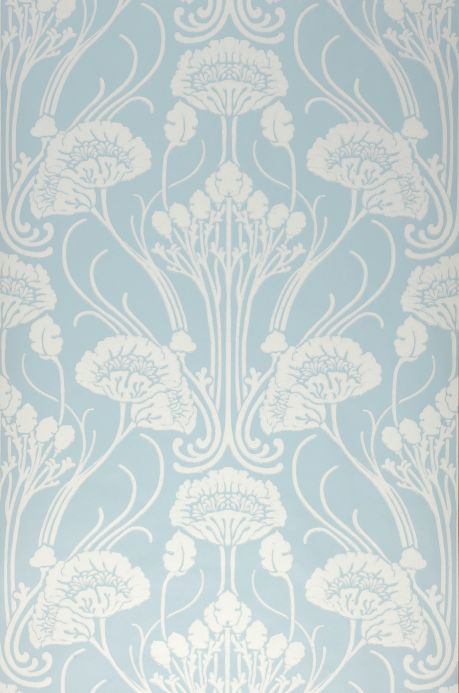 Luxury Wallpaper Wallpaper Sibia light blue Bahnbreite