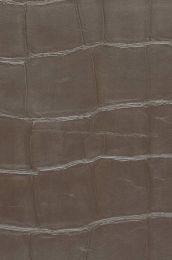 Papel de parede Croco 07 cinza pardo