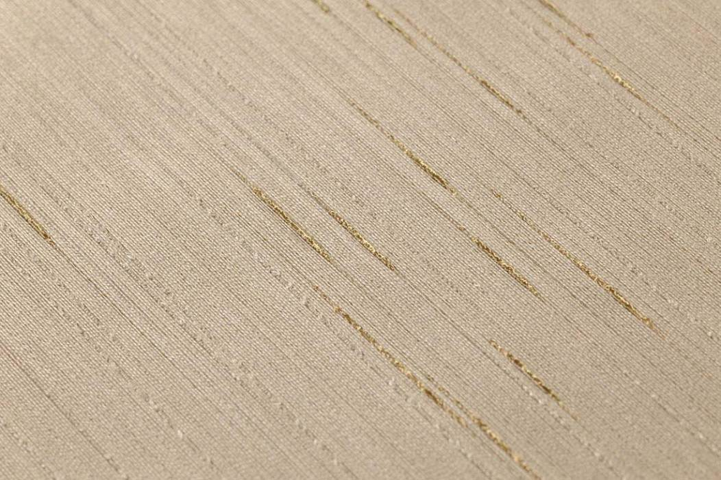 Wallpaper Warp Glamour 07 Shimmering Solid colour Light grey brown