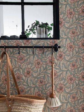 Papel de parede Esmeralda creme Ver quarto