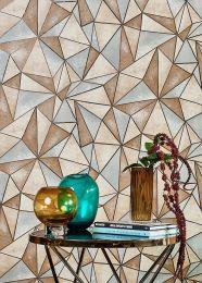 Wallpaper Mirage brown tones