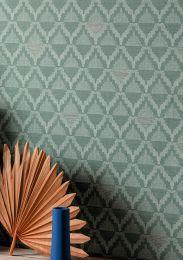 Wallpaper Kurumba mint turquoise