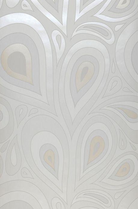Archiv Papel pintado Celestia blanco Ancho rollo