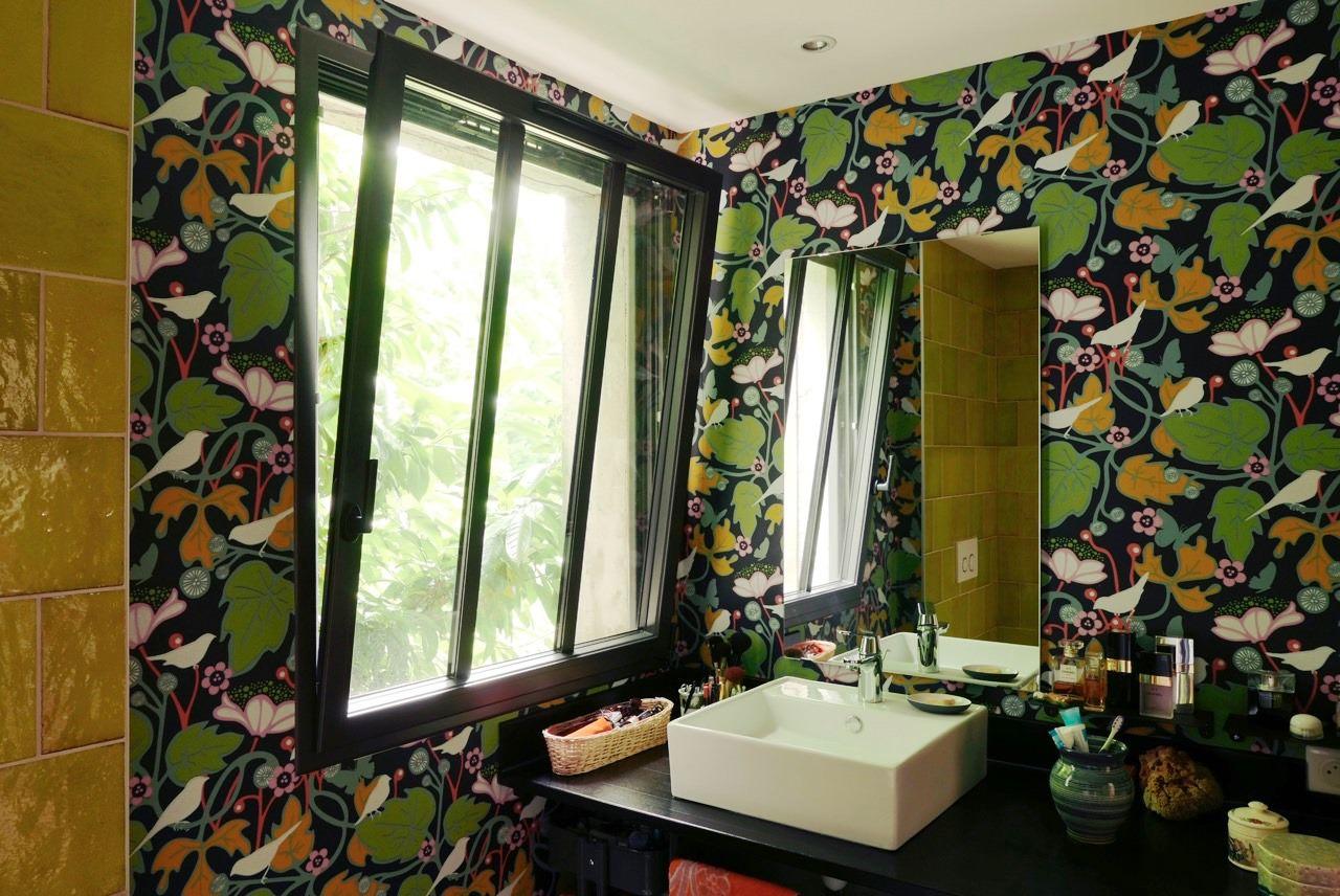Ein kleiner Raum kommt ganz groß raus - Design Tapeten für ...