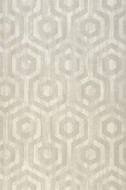 Wallpaper Marno light grey Roll Width
