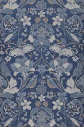 Wallpaper Leyla shades of blue