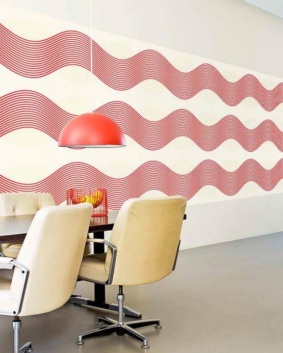Archiv Papel pintado Garuda rojo Ver habitación