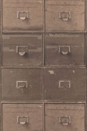 Wallpaper Lombette grey brown