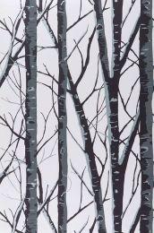 Papel pintado Diomedes gris oscuro
