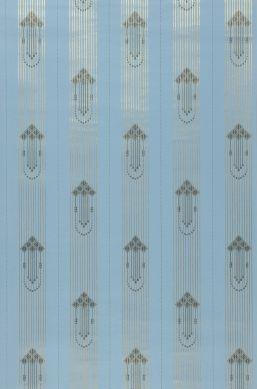 Wallpaper Valter light blue Roll Width