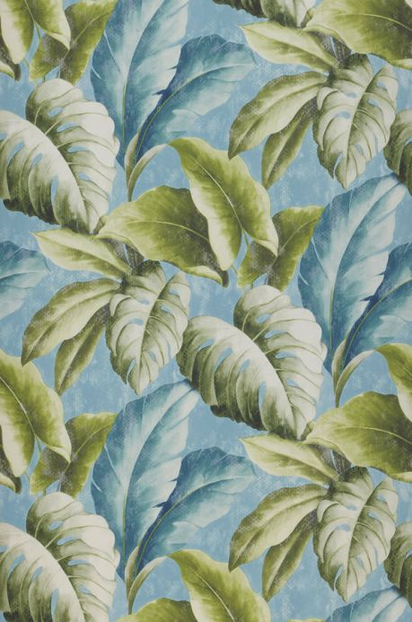 Archiv Papel de parede Verena azul pastel Largura do rolo