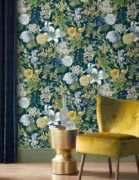 Wallpaper Julia black