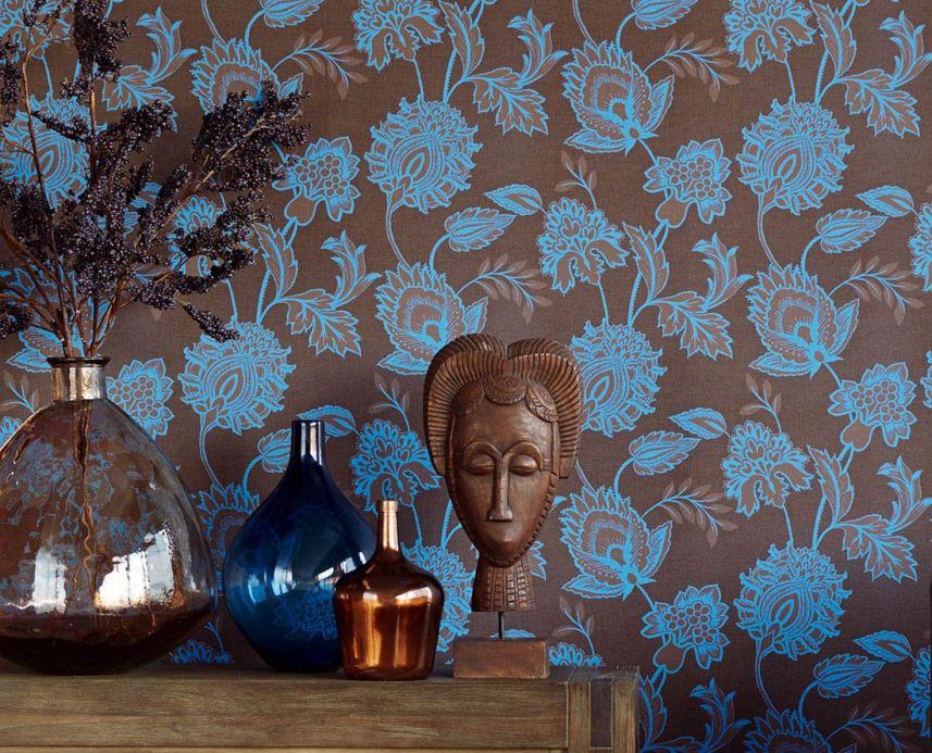 Archiv Papel de parede Elaine azul claro Ver quarto