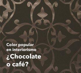 Papel pintado marr n c lido y atractivo papel dise o en for Papel pintado marron chocolate