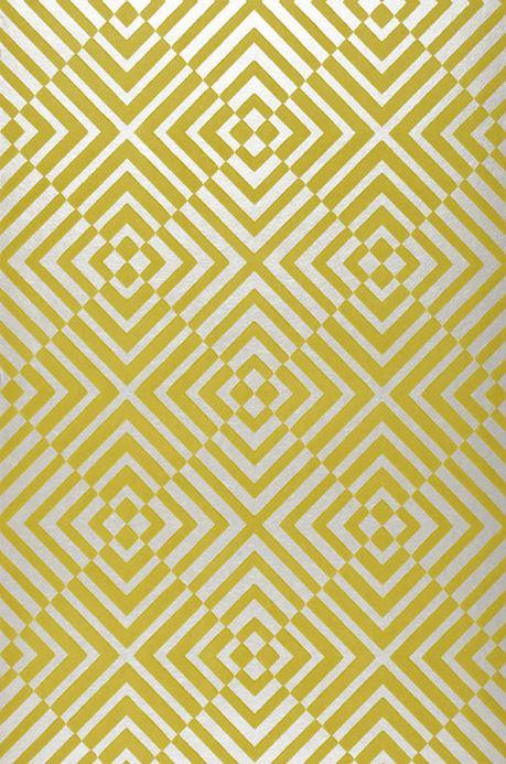 Archiv Papier peint Nirvana vert jaune Largeur de lé