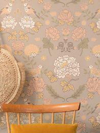 Wallpaper June light grey