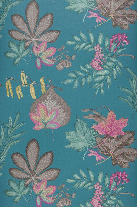 Archiv Wallpaper Samarina blue green Roll Width