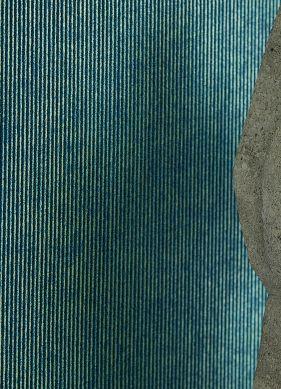Wallpaper Hotaru ocean blue Raumansicht