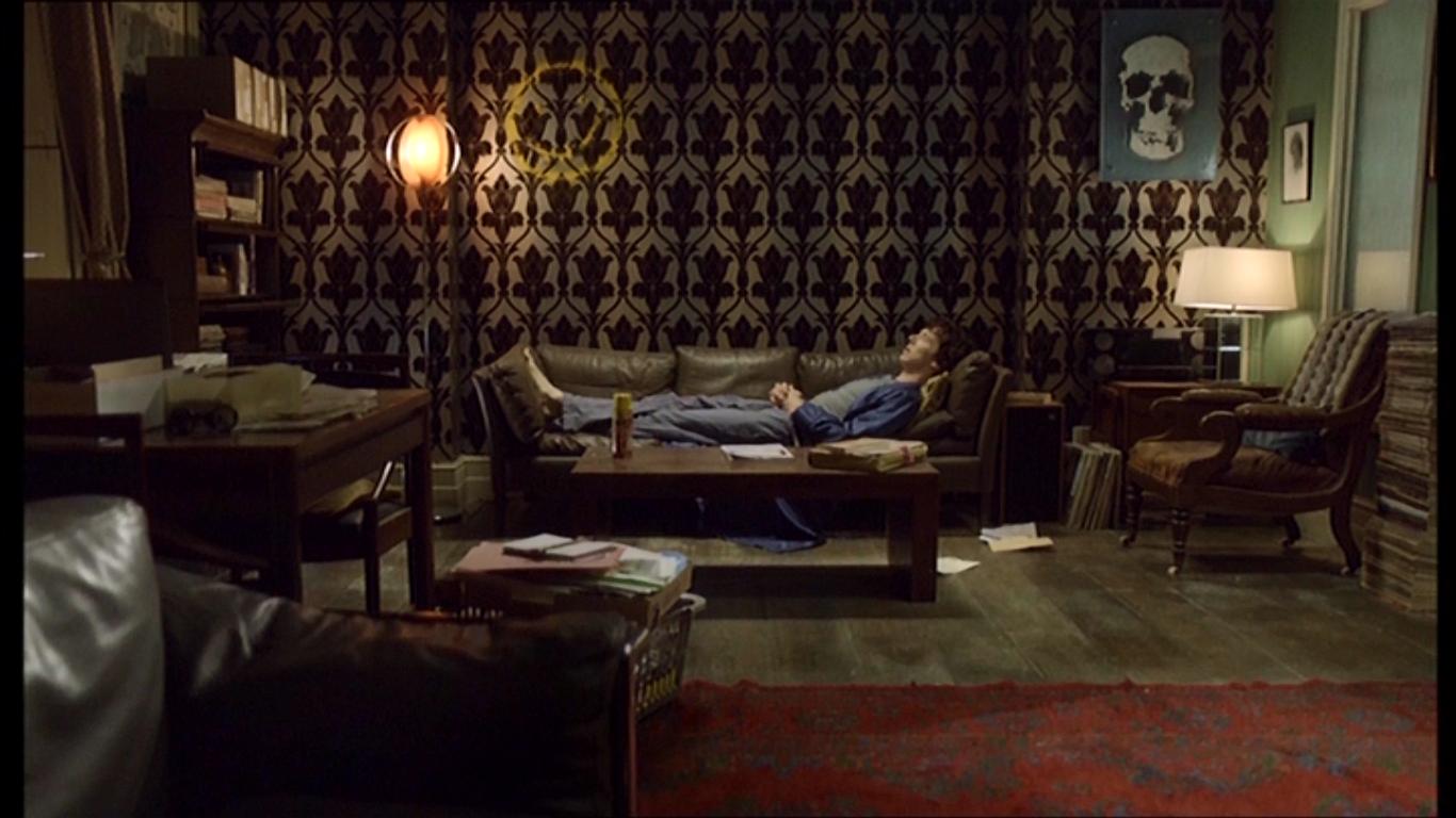 tapeten aus sherlock wohnzimmer florale ornamente vliestapete dunkelbraun velour