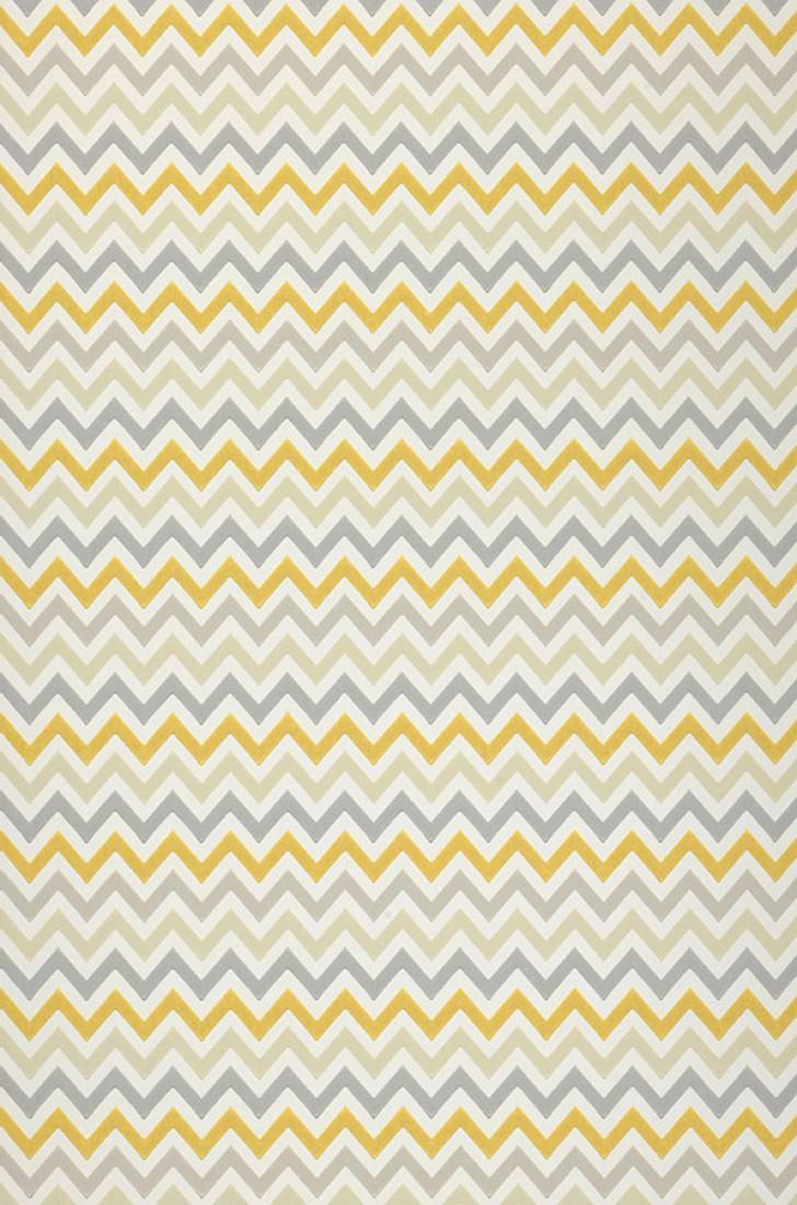Budai blanc cr me gris jaune miel gris silex gris - Papiers peints des annees 70 ...