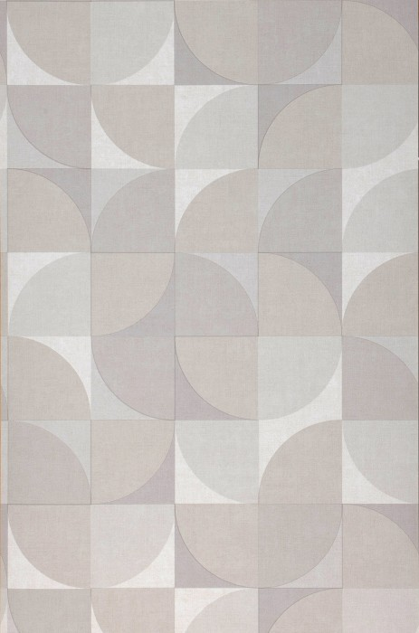 Wallpaper Junimo Matt Graphic elements Retro design Beige grey