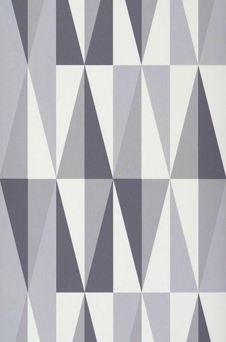 Archiv Wallpaper Spear light grey Roll Width