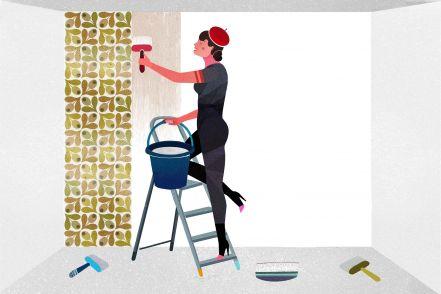 Como pendurar papel de parede TNT