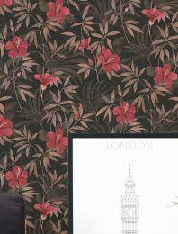 Wallpaper Tara grey brown