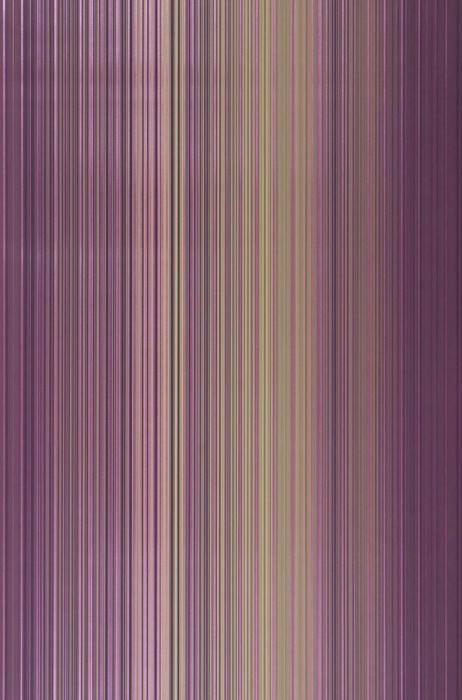 Papel de parede Owen Brilhante Listas Marfim Violeta urze Marrom acinzentado Violeta lustre