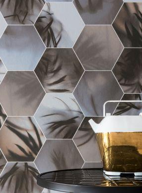 Wallpaper Ubongo brown grey Room View