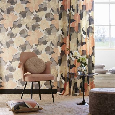 Papel pintado Adarna gris Ver habitación