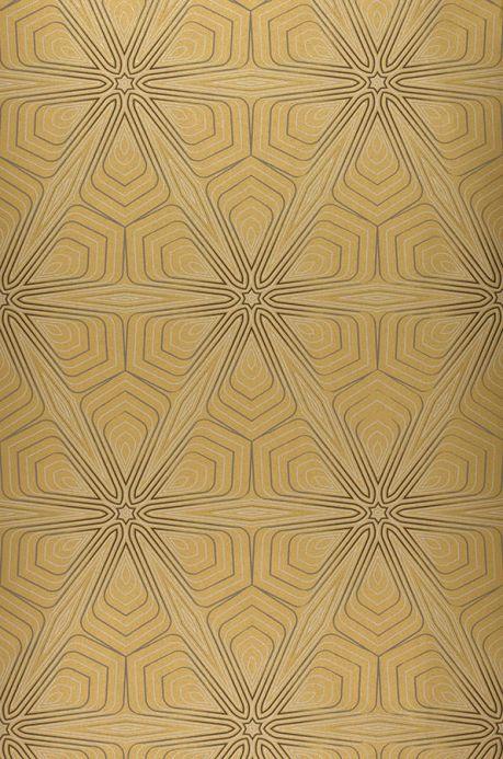Archiv Tapete Silenus Gold Bahnbreite