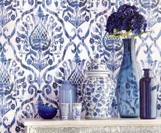 Wallpaper Esiko violet blue