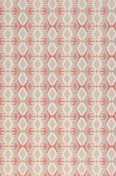 Archiv Papel de parede Amos vermelho Detalhe A4