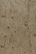 Wallpaper Natural Cork 03 Matt pattern Shimmering base surface Solid colour Gold Pearl beige