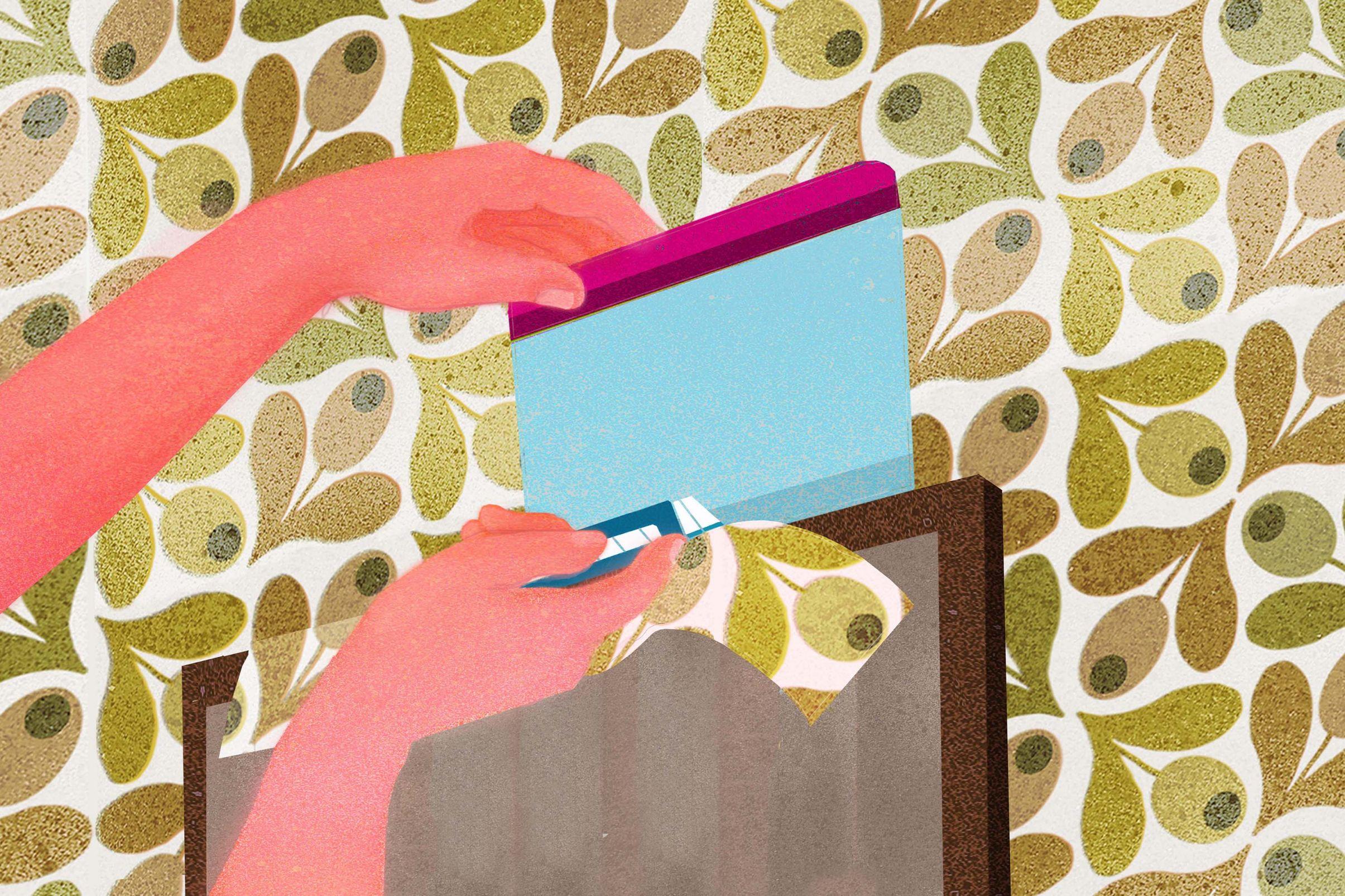 Come-posare-la-carta-da-parati-attorno-a-porte-e-finestre-Aggiungere-altri-teli-e-tagliare-il-materiale-in-eccedenza