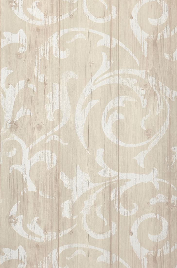 Papel pintado medusa wood gris beige p lido blanco for Parati classici
