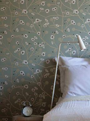 Wallpaper Chelsea beige grey Room View