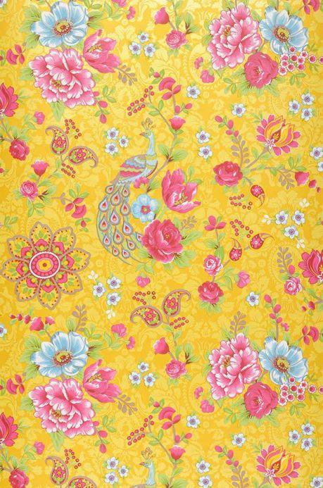 Archiv Papier peint Ludmilla jaune or Largeur de lé