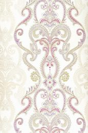 Papier peint Kesara violet rouge