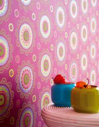 Wallpaper Bragi dark heather violet