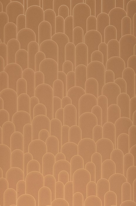 Wallpaper Fabius Matt Bends Light brown beige Brown beige