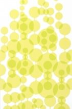 Wallpaper Feline Matt Balls White Yellow green