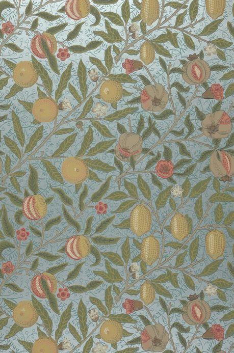 Carta da parati classica Carta da parati Sani giallo olivastro Larghezza rotolo