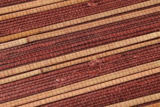 Papel pintado Natural Bamboo 02 Mate Unicolor Rojo parduzco Color paja