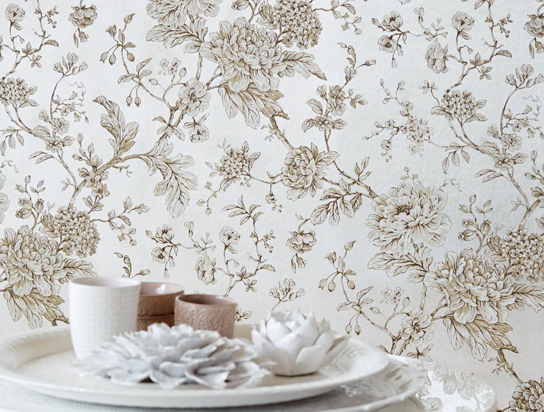 papier peint elena argent m tallique anthracite beige blanc cr me papier peint des ann es 70. Black Bedroom Furniture Sets. Home Design Ideas