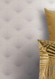 Wallpaper Hiromono white