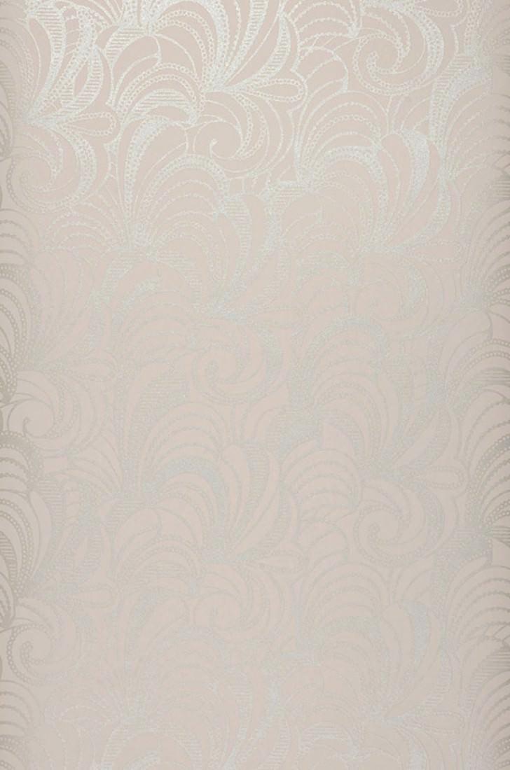 Papel pintado semele blanco gris ceo plata papeles de - Papeles pintados de los 70 ...