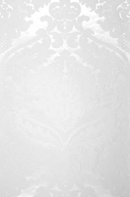 Papier peint Rajah blanc crème Largeur de lé
