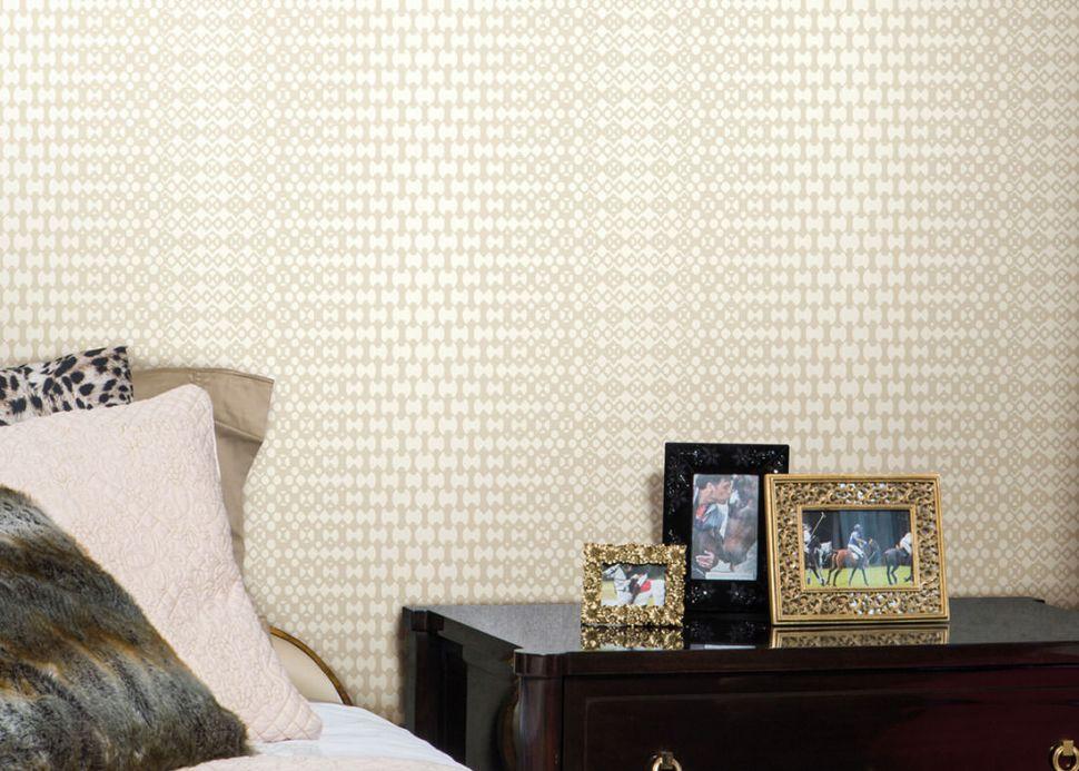Archiv Wallpaper Ricon light brown beige Room View